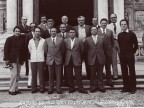 Angelo Nittoli in una foto di gruppo con i colleghi.