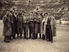Gita tra colleghi all'arena di Verona.