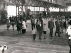Lavoratori e famiglie in visita agli impianti.