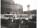 Cantiere per l'ampliamento dell'acciaieria Martin Siemens.