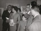 Mostra delle opere del premio di pittura aziendale.