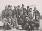 Squadra di pesca del Cral aziendale.