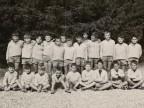 Foto di gruppo alla colonia alpina aziendale Mario Garbagni.