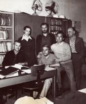 Fernanda Valenghi con i colleghi dell'ufficio qualità.