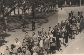 Pellegrinaggio religioso organizzato per i dipendenti.