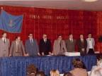 Gisberto Ianni con i colleghi durante un evento aziendale.