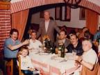 Gisberto Ianni a cena con il Gruppo Lavoratori Anziani.