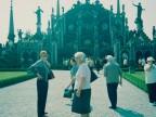 Il Gruppo Lavoratori Anziani in visita a palazzo Borromeo.