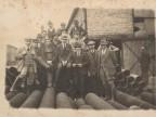 Guido Dalla Chiesa e i colleghi in una foto di gruppo.