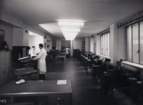 Uffici della sede centrale dell'azienda in via Brera.