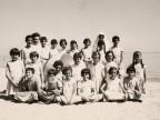 Maria Rosa Maffi e altre bambine della colonia marina F. Ratti di Desio.