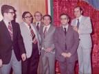 Pasquale Farella con i colleghi.