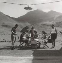 In campeggio al passo Campelli.