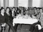 Emilio Renato Cattaneo con i colleghi durante un pranzo aziendale.