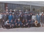 C shift in the wire rod mill. 1987