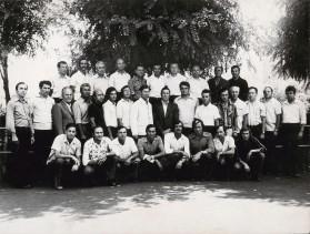 Primul grup la instruire in URSS. 1979
