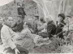 Gli specialisti sovietici con le loro famiglie. 1979