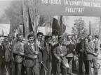 Dimostrazione durante la festività del 1° maggio a Nikopol. 1979
