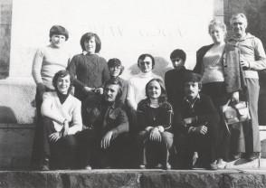 Cercul de turism din ITZ. Inceputul anilor '80