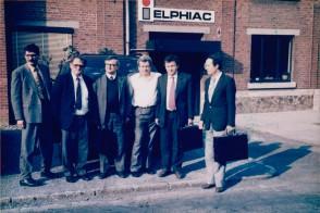 Selectia noului cuptor cu inductie. Belgia, 1993