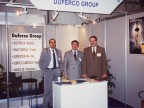 Participation, together with Duferco Group, at a fair in Italy. 2000
