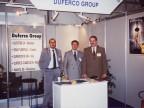 Partecipazione, insieme a Duferco Group, ad una fiera in Italia. 2000