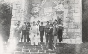 Viaggio in gruppo del team meccanico-energetico. 1984