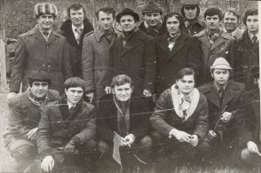 Secondo gruppo di impiegati alla formazione in Unione Sovietica. 1979