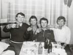 Celebrazione del compleanno di Radu, figlio di George Terhes.