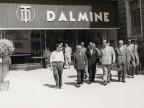 Visitatori allo stand Dalmine della Mostra del Tirreno.