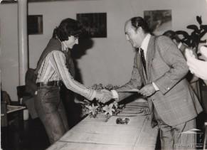 Nicoletta Lucia Steli premiata con una borsa di studio.