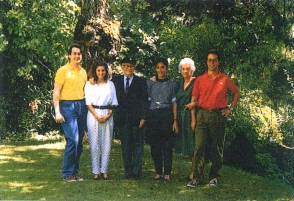 L'ingegnere Albert Calmes e la sua famiglia