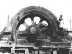 Generatore elettrico Metropolitan Vickers.