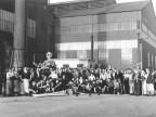 Cicciolo nello stabilimento. 1947