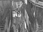 Costruzione impianto treni temper. Anni '50