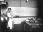 Preparazione del pranzo per la squadra del Calcio Piombino. 1950