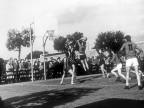 Partita di basket. Anni '50