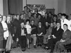 Premiazione dipendenti anziani, festeggiamenti. 1960