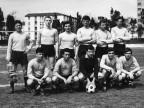 Squadra di calcio degli allievi della scuola siderurgica. Anni '60