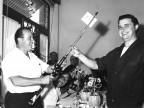 Premiazione gare sportive. Anni '60