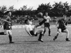 Squadra calciatori Italsider, partita. Anni '60