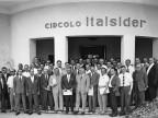 Circolo Italsider. Partecipanti a un congresso. 1961