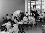 Apertura anno scolastico. 1964