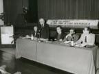 Relatori del convegno sui beni culturali. 1984