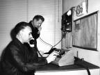 Operatori al centralino. Anni '60