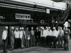 Dirigenti e delegazione sovietica in visita. 1984