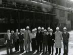 Dirigenti e delegazione cinese in visita. 1984