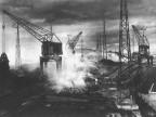 Impianto agglomerato, demolizione del minerale. Anni '20
