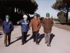 Vincenzo Crapanzano in visita allo stabilimento. Anni Duemila