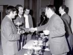 Premiazione seconda Coppa Marini.